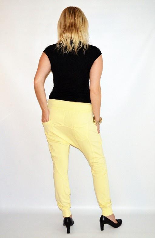 Moda Italy Turecké kalhoty žluté - JDFashion.cz 4c63fd513f
